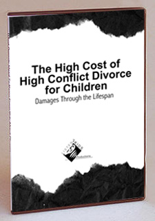 DVD Cover - High Cost of High Conflict Divorce